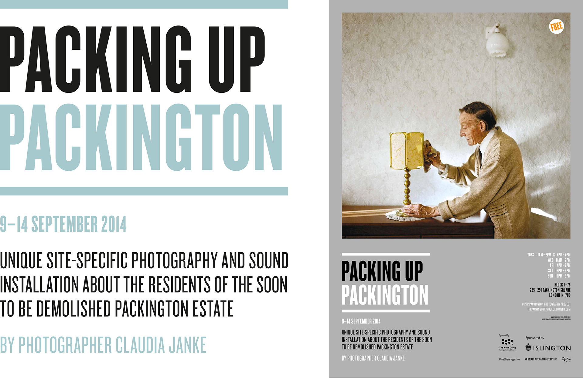 Packing up Packington designed by Irish Butcher