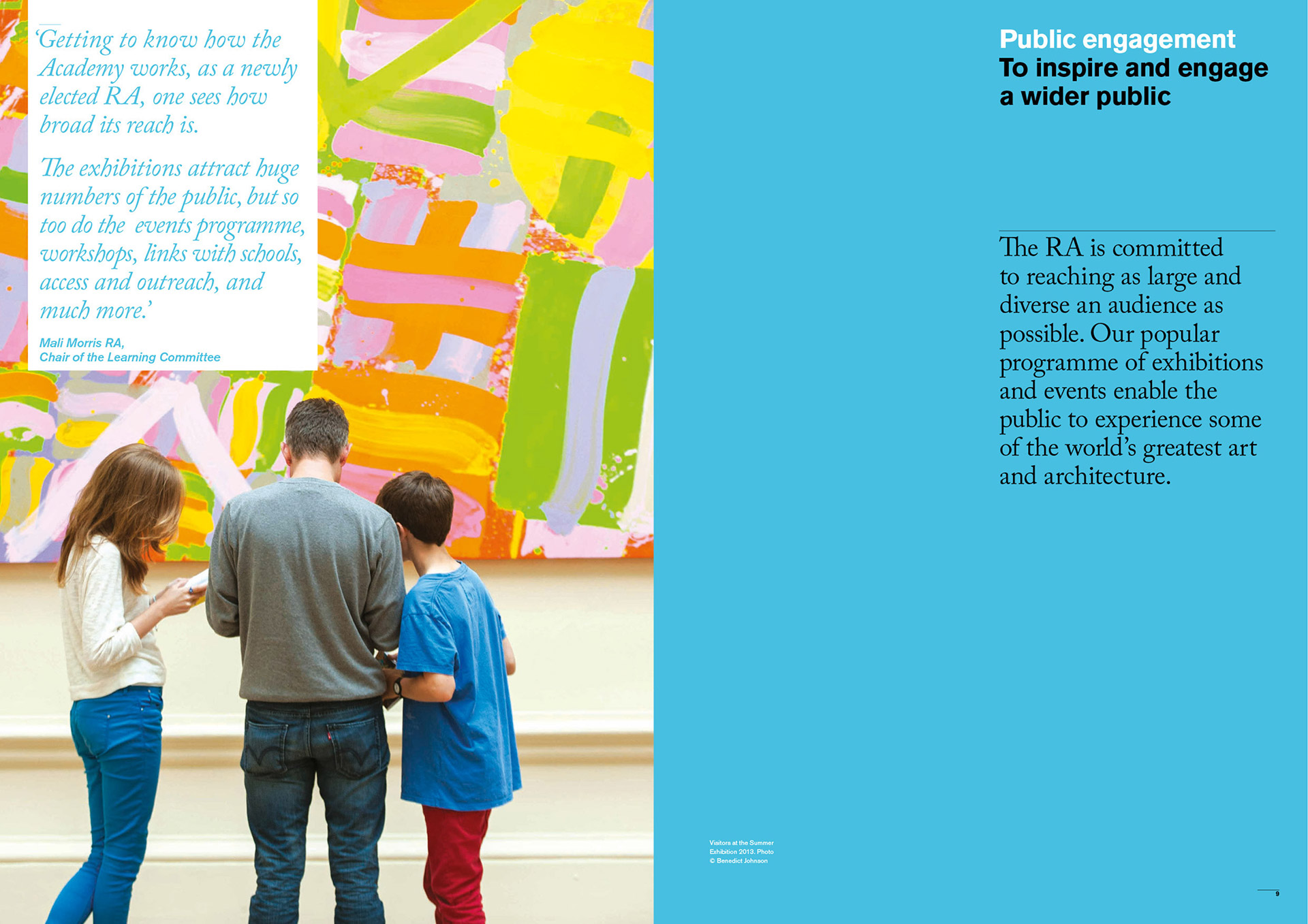 Royal Academy of Arts Annual Review designed by Irish Butcher