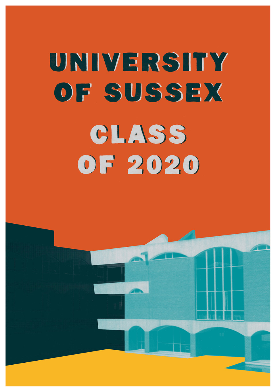 The University of Sussex - Graduation Memento, designed by Irish Butcher